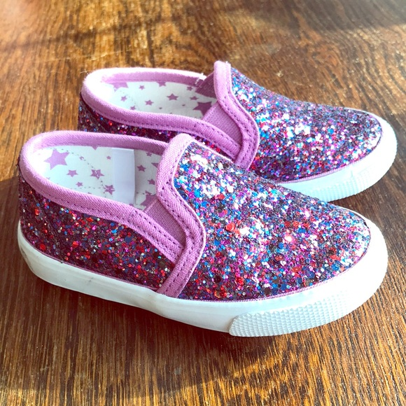 timeless design 672ff 1e59c ... toddler sequin sparkle shoes 6 girl. M 5ace89ac05f43024b1c3df9e